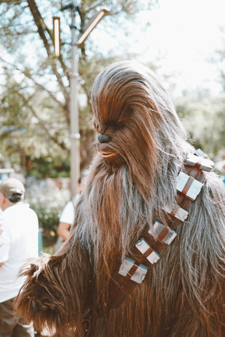 Chewbaca in Galaxy's Edge