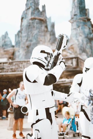 Stormtroopers in Galaxy's Edge