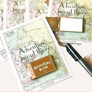 Adventure Book Dry Erase Whiteboard Pin
