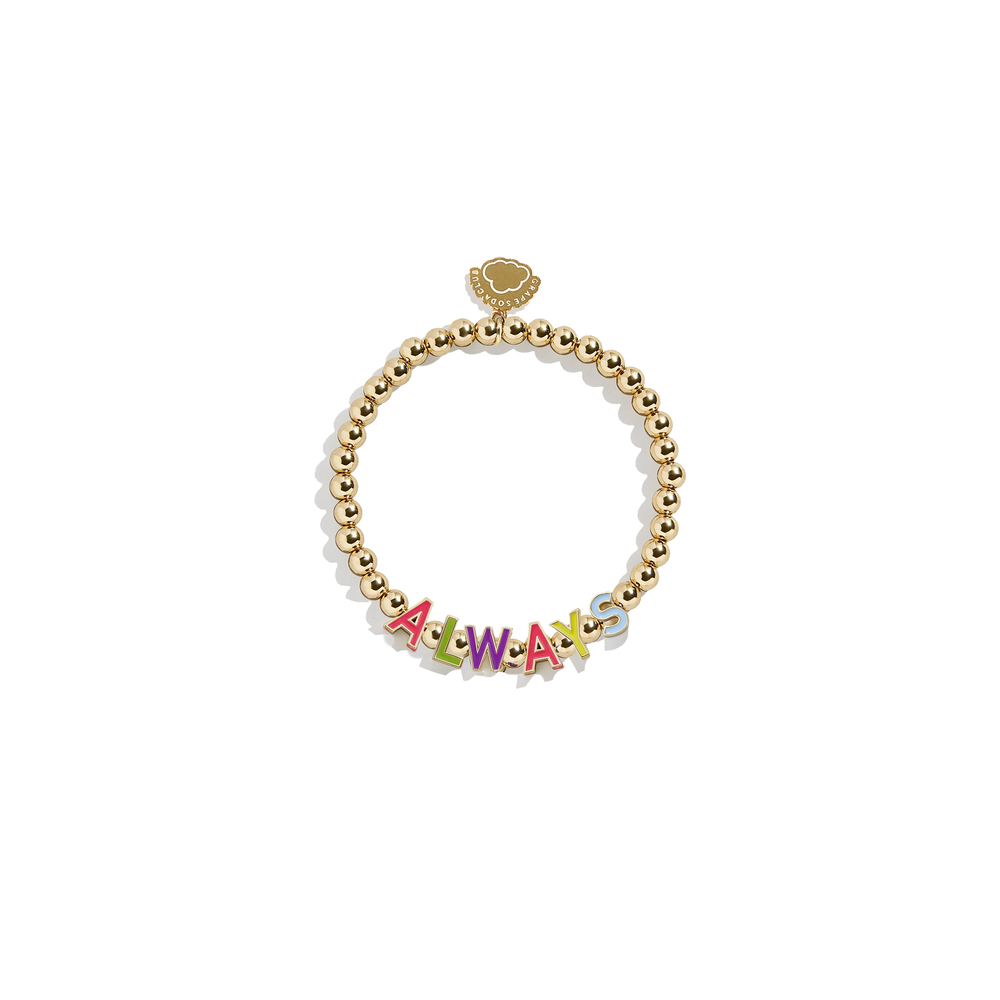 Always Bracelet | 14k Gold Beads