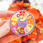 PRE ORDER: Holiday Trick & Treats Halloween Spinner Enamel Pin