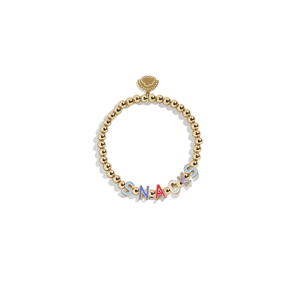 Snacks Bracelet | 14k Gold Beads