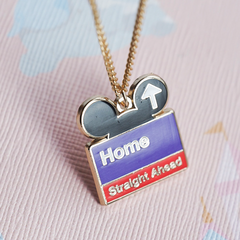 Welcome Home Gold Necklace