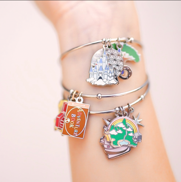 Never Grow Up Bangle Star Clasp Bangle