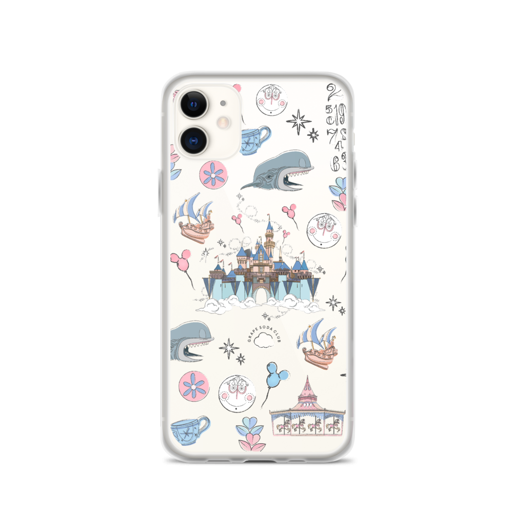 Happily Ever After: Sketch Collection iPhone Case