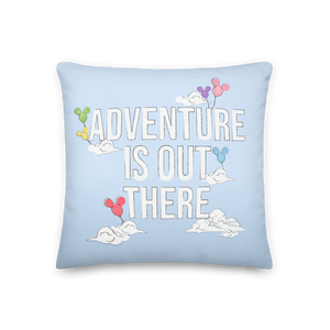 Sketch Collection: Adventure is Out There Premium Pillow