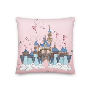 Happily Ever After Sketch Premium Pillow