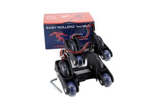 Four Wheel Easy Rollerz (Black) Gen 2