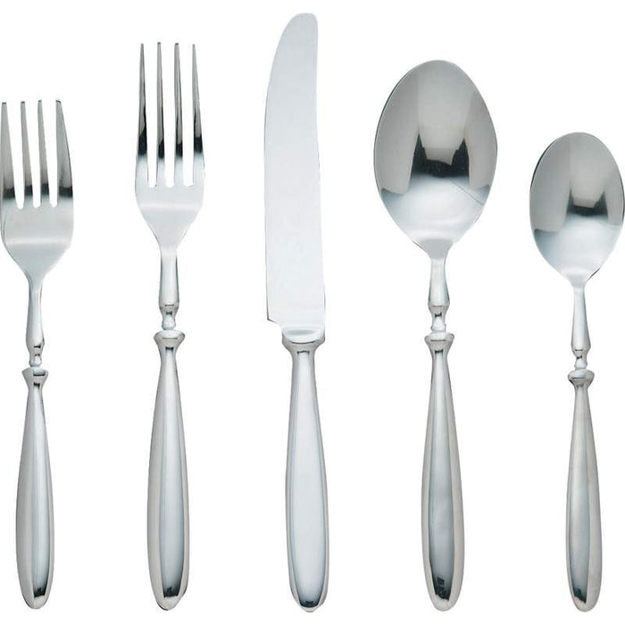 "Bistro"" 20pc Forged 18/8 Stainless Steel Flatware Set"