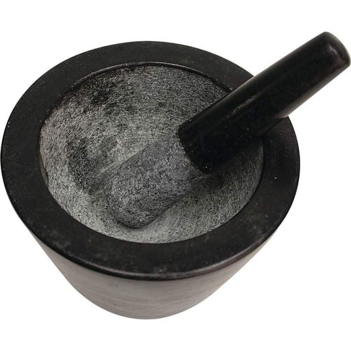 "8"" Deep Dish Granite Mortar and Pestle"
