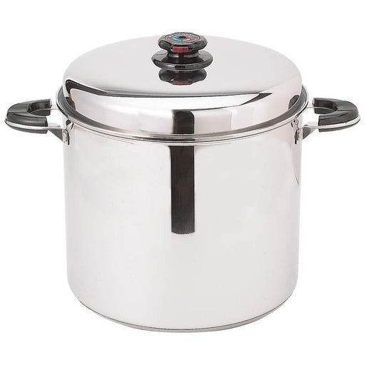 AMERICAN  HIGHEND ''Waterless'' Stockpot with Deep Steamer Basket - King of Products
