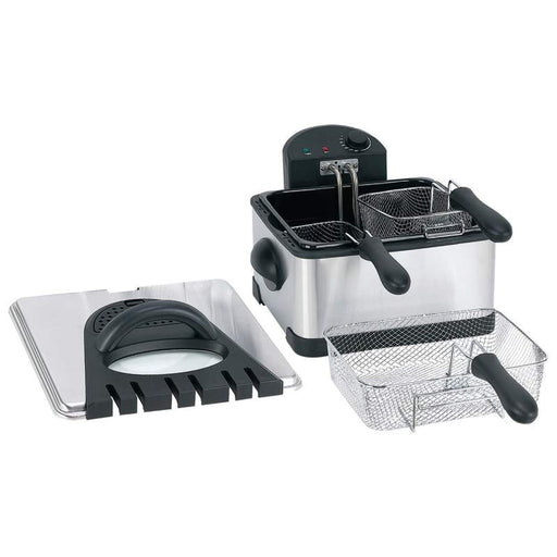 FREE SHIPPING  4qt Electric Deep Fryer