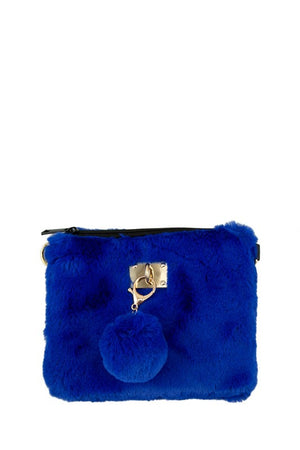Fur Square Clutch or Crossbody
