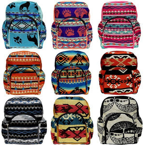 Mini Ecuadorian Back Pack with Adjustable Straps