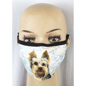 Face mask-Yorkie