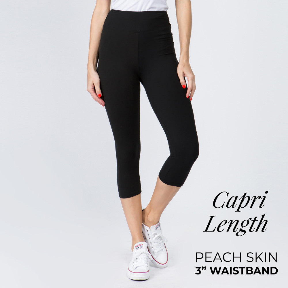 Stretch Crop Leggings