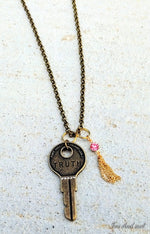 Truth Key Necklace
