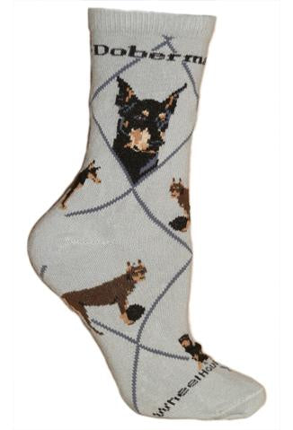 Doberman Pinscher Socks