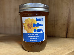 Small 1/2 Pint Local Fawn Hollow Honey