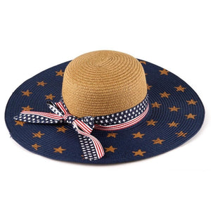 Red White and Blue Sunhat