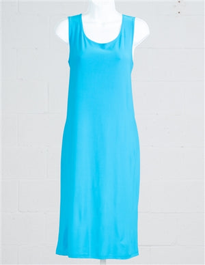 Solid Color Tank Dress
