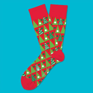 Pine Grove Christmas Socks