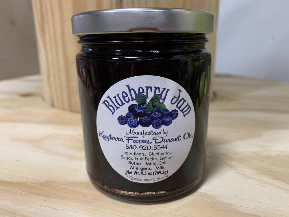 9.5 oz Blueberry Jam