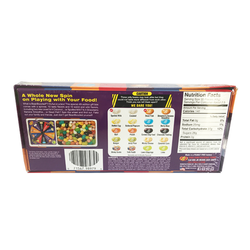 JELLY BELLY BEAN BOOZLED SPINNER BOX 4TH EDITION