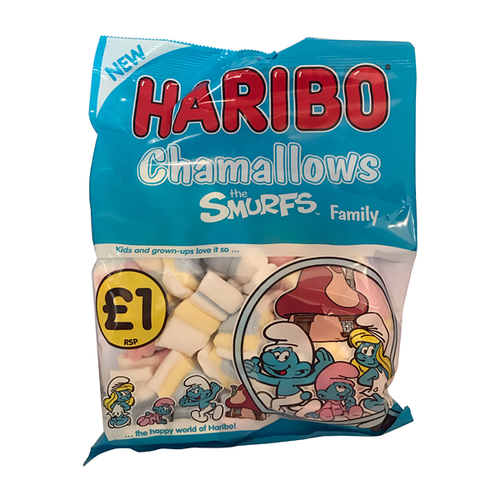 HARIBO CHAMALLOWS SMURFS