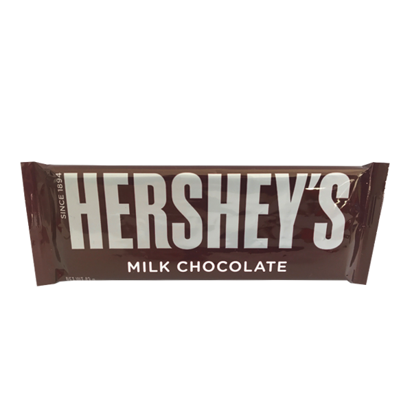 HERSHEY'S PLAIN MILK CHOCOLATE