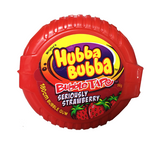 WRIGLEY'S HUBBA BUBBA BUBBLE TAPE SERIOUSLY STRAWBERRY