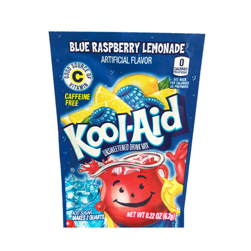 KOOL-AID SACHET BLUE RASPBERRY LEMONADE