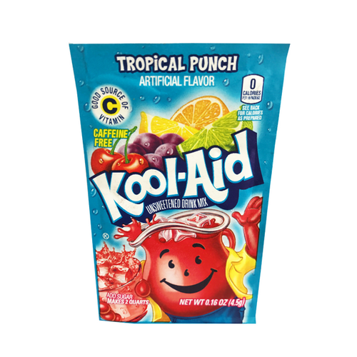 KOOL-AID SACHET TROPICAL PUNCH