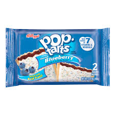 POPTARTS FROSTED BLUEBERRY X2