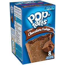 POPTARTS FROSTED CHOCOLATE FUDGE X2