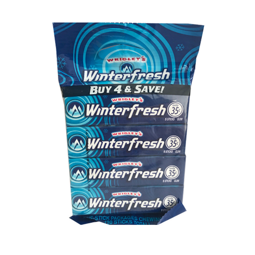 WRIGLEY'S WINTERFRESH 4 PACK ( Dated )