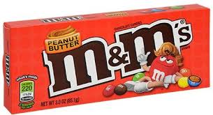 M&M'S PEANUT BUTTER THEATRE BOX