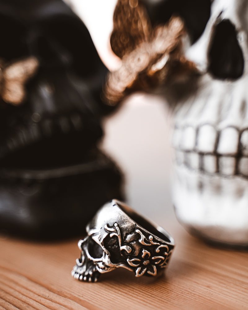Bonedaddy Halfjaw Skullring (Made to Order)