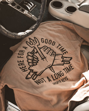 Here For a Good Time Hoodie