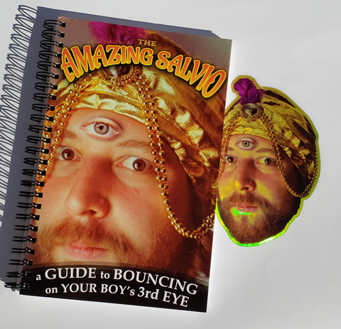 The Amazing Salvio's Guide to Bouncing on Your Boy's 3rd Eye but it's just a blank journal