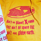 FLAT EARTH Hooded Sweatshirt