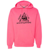 Cease Your Investigations: Secret Illuminati HOODED SWEATSHIRT