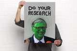 "Do Your Research Poster! (18X24"")"