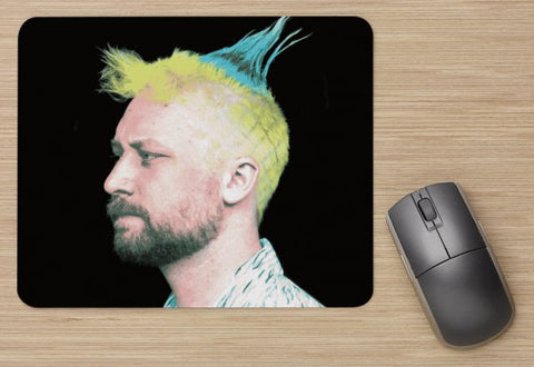 "Pineapple Erik Mouse Pad (9""X8"")"
