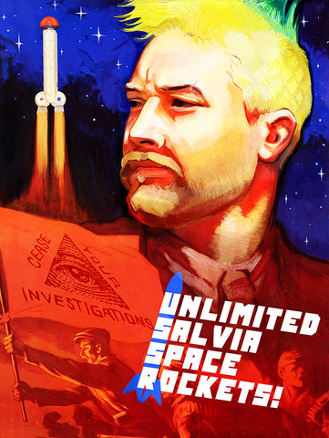 "USSR Space Race Poster! (18X24"")"