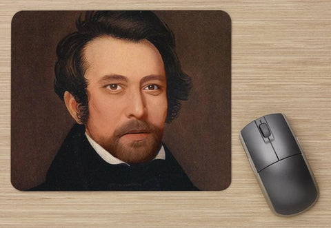 "Fancy Man Erik Mouse Pad (9""X8"")"