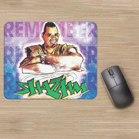 "SHAZAAM Mouse Pad (9""X8"")"