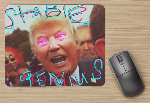 "(Trump) Stable Genius Mouse Pad (9""X8"")"