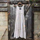Neutral Calico Ruby Dress Maxi