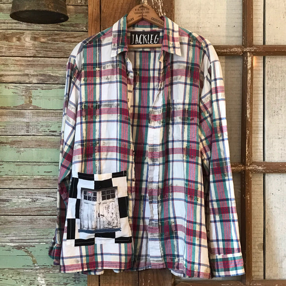 Garage Door Flannel